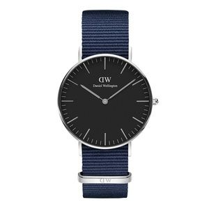 Daniel Wellington classic black bayswater watch